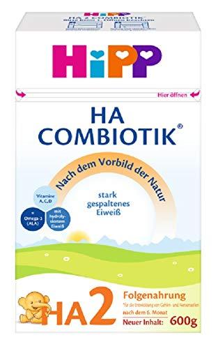 Hipp Milchnahrung, HA 2 Combiotik, 4er Pack (4 x 600 g)