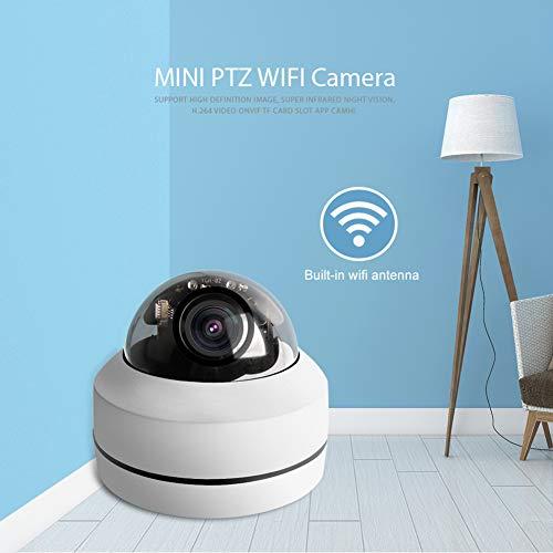 Hihey Überwachungskamera 2,5 Zoll HD 1080P kabellose PTZ Dome IP Kamera 4 Fach Zoomobjektiv Outdoor Überwachungskameras Motorisierte CCTV Kamera