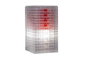 Kreaton Lampada Modulare Soulmate, Trasparente/Rosso by Giulio Masciocchi