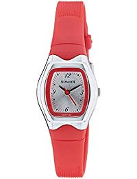 Sonata Analog White Dial Women's Watch-NJ8989PP05C