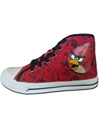 NEW Toile Sneakers/Angry Birds pour enfant chaussures