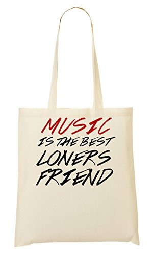 Music Is The Best Loners Friend Sac Fourre-Tout Sac À Provisions