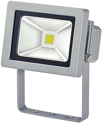 Brennenstuhl Chip LED-Leuchte 10W IP65 zur Wandmontage Outdoor, 1171250101