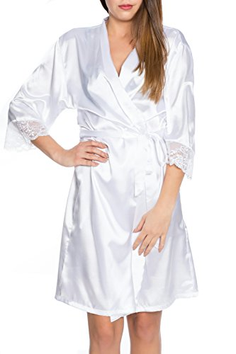 Kendindza Collection - Robe de chambre - Femme Weiß