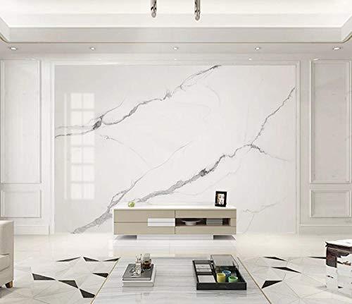 Weiße Ascot (Schneeflocke weißes Ascot weißer Jazz White Marble Pattern Slab Fernsehhintergrund-Wand 400x200 cm)
