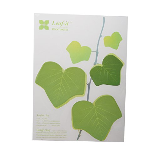 TOOGOO(R)Sticky Note Memo Note Maple Leaves Shaped random 60 sheets