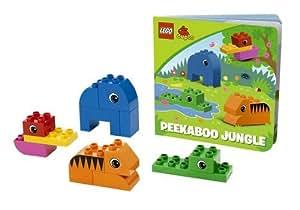 Lego Duplo – 10560 – Read & Build – Peekaboo Jungle – Version Anglaise (Import Royaume-Uni)