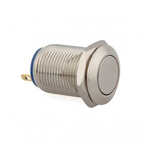 12mm 12V Momentary On/Off Push Button Switch für Auto Mini Fahrzeug Langlebig Boot Auto