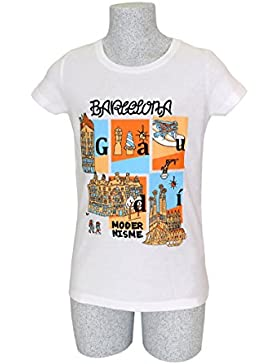[Patrocinado]CAMISETA NIÑA BARCELONA MODERNISME · MR. MAU · ORGANIC COTTON