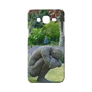 BLUEDIO Designer 3D Printed Back case Cover for Samsung Galaxy E7 - G4930