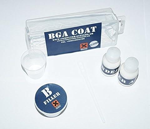 BGA COAT underfill interconnexion pour composants BGA Améliorer rebillage & refusion réparations sur GPU