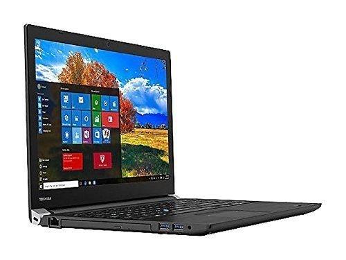Toshiba Tecra 15.6 inch HD Business Flagship High Performance Laptop, Intel Core i7-7500U, 16GB RAM, 256 GB M.2 SSD, VGA + HDMI, DVD +/-RW, Windows 10 Pro image