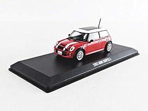 Greenlight Collectibles- Coche en Miniatura de colección, 86547, Rojo y Blanco