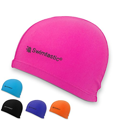 swimtastic-lycra-swim-cap-5-stylish-colours-to-choose-from-pink