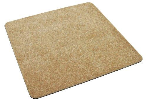 Deko-Matten-Shop Fußmatte Classic, Schmutzfangmatte, quadratisch, 30x30 cm, beige, in 9 Größen und 11 Farben -