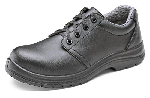 ClickFootwear Micro Fibre de travail Chaussure S2 Noir