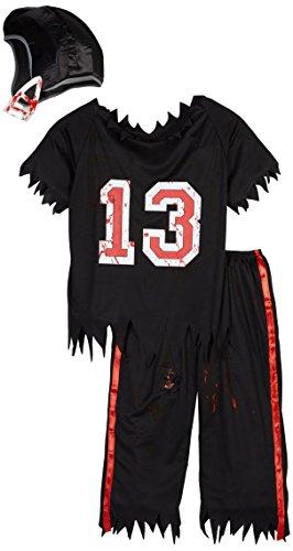 Smiffys, Herren Zombie American Footballer Kostüm, Oberteil, Hose und Helm, Größe: M, (Partnerkostüme)