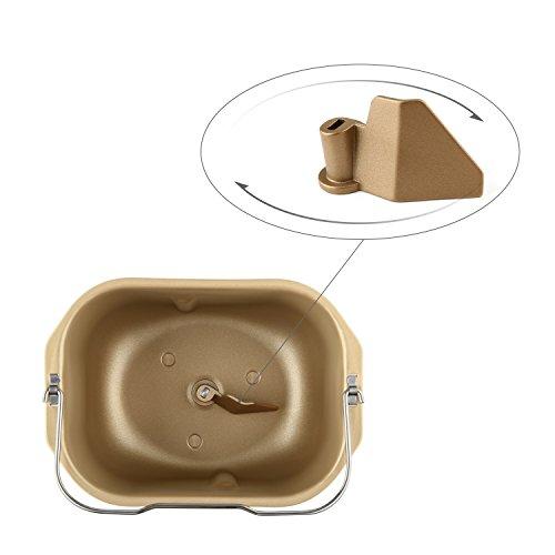 Aicok machine pain robot boulanger permettant de cuire 2 2 lb approximativement 1 kilo avec - Machine a pain boulanger ...