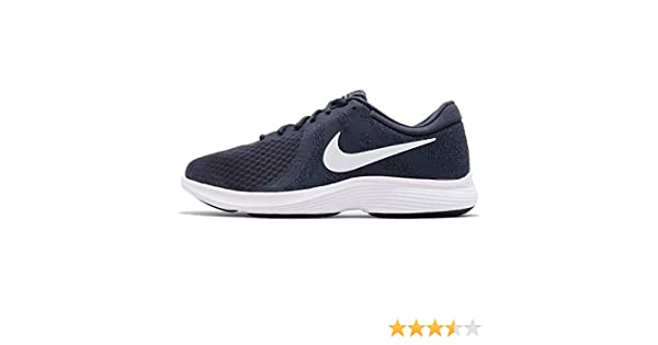 0d6b2eb8fae14 NIKE Men s Revolution 4 Thunder Blue White Running Shoes (908988-402)  Buy  Online at Low Prices in India - Amazon.in
