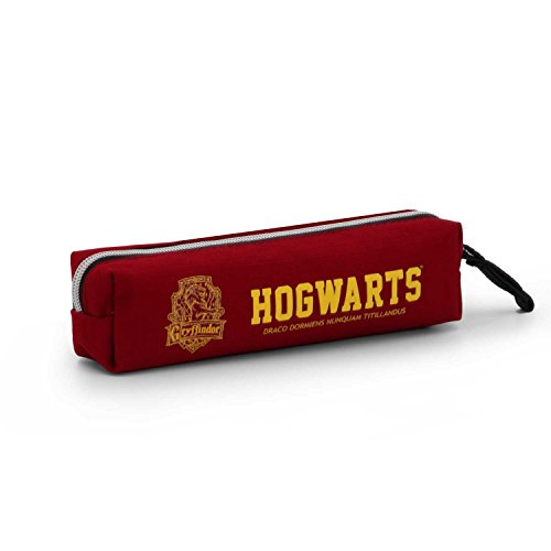 Harry Potter Gryffindor Estuches, 22 cm, Rojo