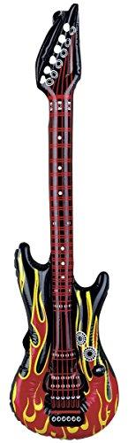 Krüger & Gregoriades 583009–guitarras hinchables llamas, 100cm