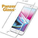 PanzerGlass Tempered Glass for Apple iPhone 6,6s,7,8 Edge to Edge White Frame with Easy Installation Kit
