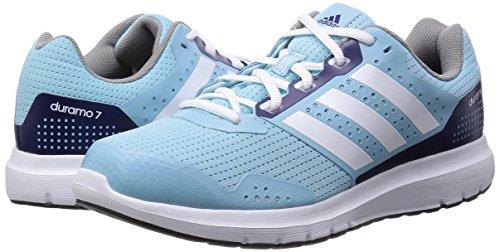 super popular c210c d26d5 ... adidas Duramo 7 W - Zapatillas de running para mujer, Azul  Blanco, 41  ...