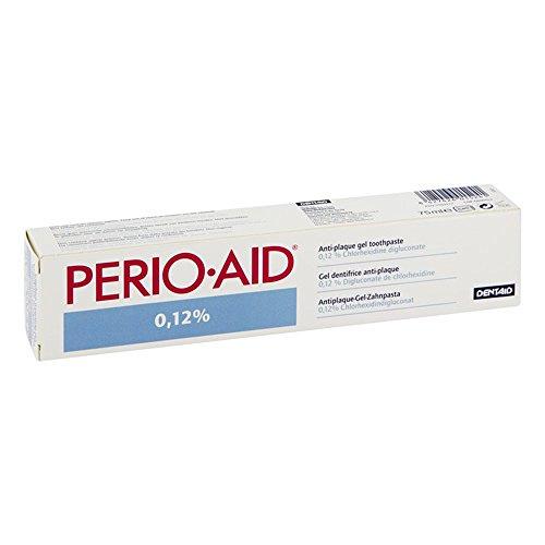 PERIO AID 0,12% Gel Zahnpasta 75 ml Zahngel (Xylit Gel-zahnpasta)