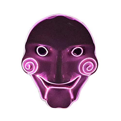 Halloween 2018 LED Máscaras - Brillante Máscara Saw