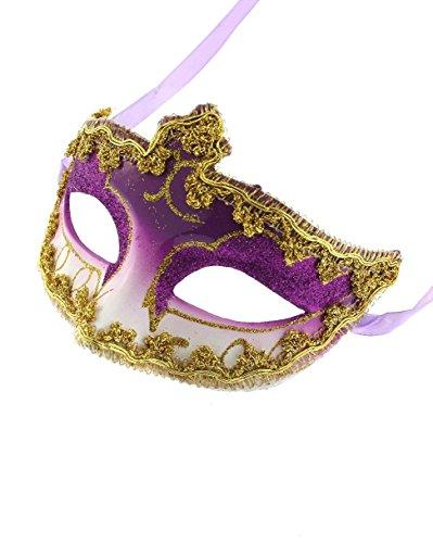 Zac's Alter Ego® Classic venezianischen Stil Maske ideal für Halloween/Kostüm Partys