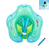 YAAVAAW Baby Swimming Float With Seat,Adjustable Inflatable Baby Float, Newborn Swimming Pool Toys,Ba