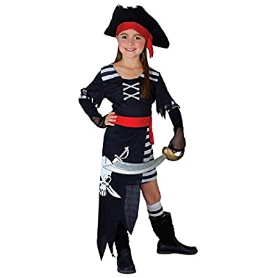Pirate Princess Fancy Dress Costume Girls (pirates)