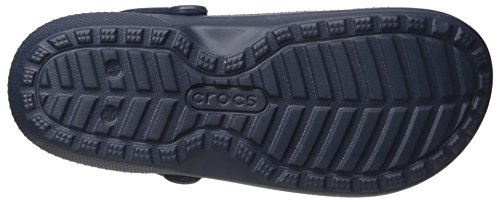Crocs Classic Lined Graphic, Sabots unisexe navy/cerulean blue
