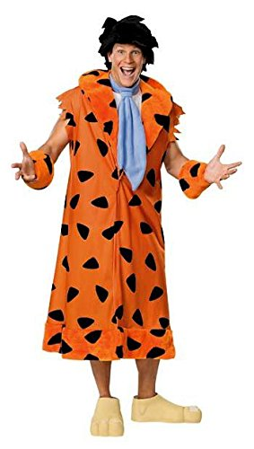 Fred Feuerstein Kostüm - Fred Feuerstein Kostüm Für Erwachsene