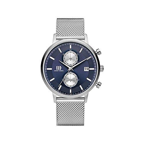 DANISH DESIGN Reloj Analógico para Hombre de Cuarzo con Correa en Acero Inoxidable IQ68Q1215