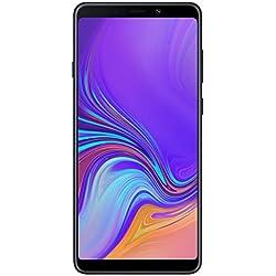 "Samsung Galaxy A9 (2018) Smartphone, Nero (Caviar Black), Display 6.3"" 128 GB Espandibili, Dual Sim [Versione Italiana]"