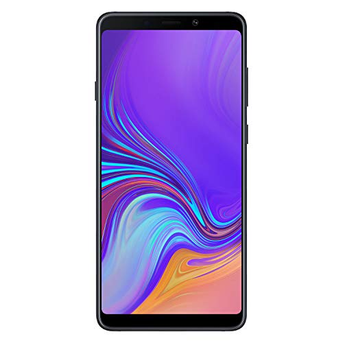"Samsung Galaxy A9 (2018) Smartphone, Nero (Caviar Black), Display 6.3"" 128 GB Espandibili, [Versione Italiana]"