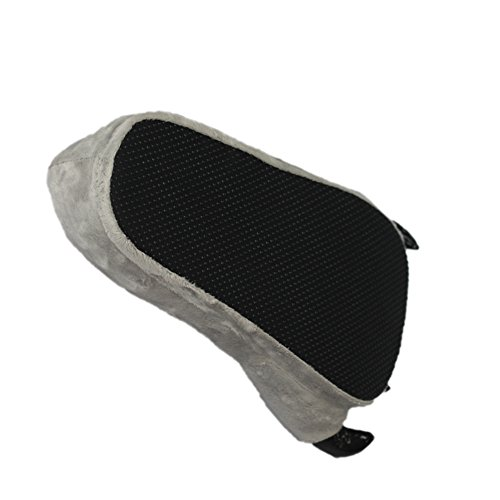 LATH.PIN - Pantofole o zampe di animale per costume, idea regalo Grau