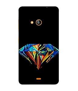Fuson Designer Back Case Cover for Nokia Lumia 730 Dual SIM :: Nokia Lumia 730 Dual SIM RM-1040 (Multicolor Design Graphics Girl Woman Lady Female)