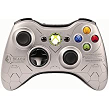 Db-Line Halo - Volante/mando (Gamepad, Xbox 360, Analogue / Digital, Inalámbrico, RF, 2,4 GHz) Plata