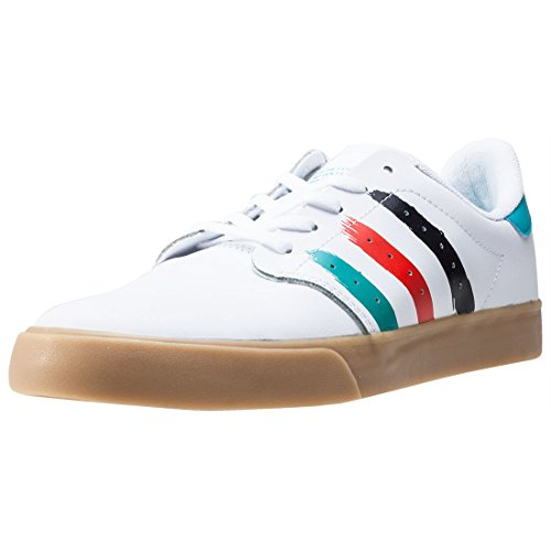 adidas Seeley Court White Blue Energy Weiß