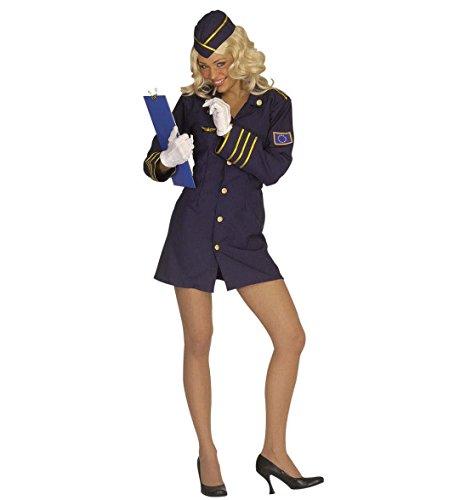 Widmann 44561 - Kostüm Stewardess, Größe 34 / 36, S