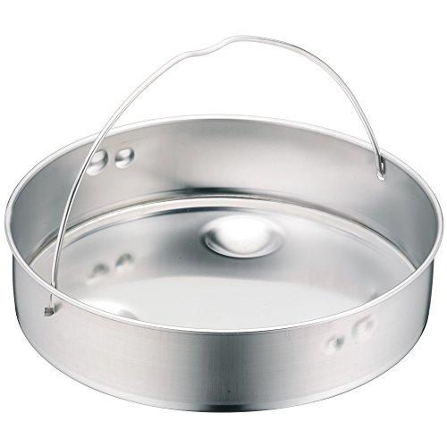 WMF Schnellkochtopf Einsatz, Dünsteinsatz, ungelocht, für Ø 22 cm, Cromargan Edelstahl, spülmaschinengeeignet