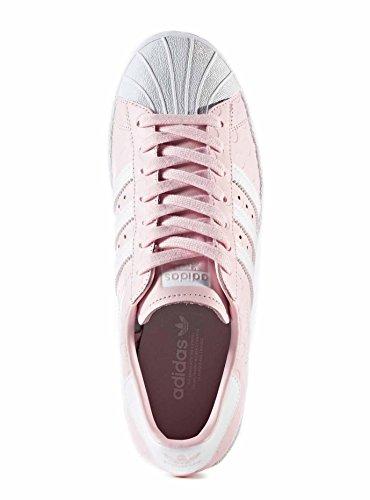 Sneaker Adidas Superstar 80 Rosa Rosso