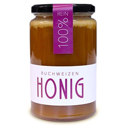 Buchweizenhonig 100% Rein • Direkt vom Imker• Reines Naturprodukt • Flüssig, fein cremiger Blüten, Honigtau-Honig | Forest Honey Farm (2017) … (Buchweizenhonig, 1 KG)