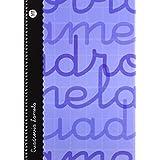 Lamela 99-N - Cuaderno con espiral, folio, tapa dura, color azul, talla 80 páginas/ 3 mm