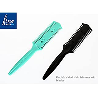 Double Sided Hair Razor Comb Pack of 2 (399-01)