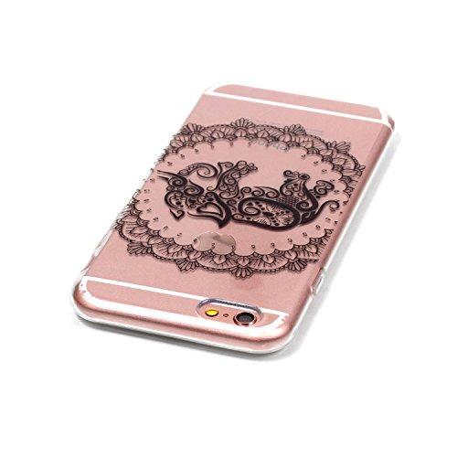 """Coque iPhone 6s, MOONCASE iPhone 6 Etui Ultra Mince Coque Housse Silicone Parfait Cover Case avec Absorption de Choc pour iPhone 6 (2014) / 6s (2015) 4.7"""" - YX10 Série Fantasy - YX08"""