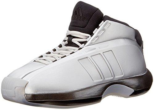 Adidas Crazy 1 Uomo US 8.5 Argento Scarpa ginnastica
