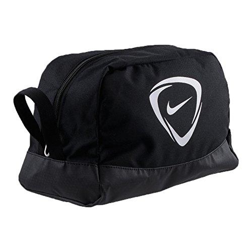 Nike Waschbeutel Club Team Toiletry Bag Kulturtasche, Black/White, 27 x 16 x 16 cm, 7 Liter